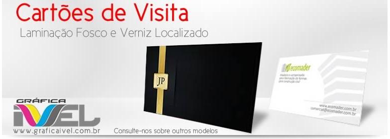 Banner de cartões de visita