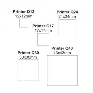 Carimbo Printer Quadrado